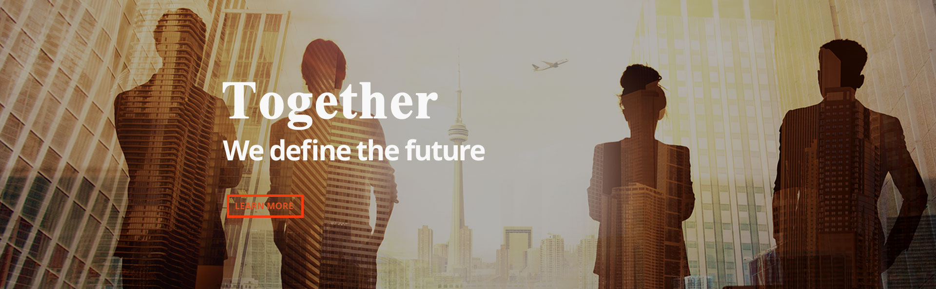 Together, we define the future